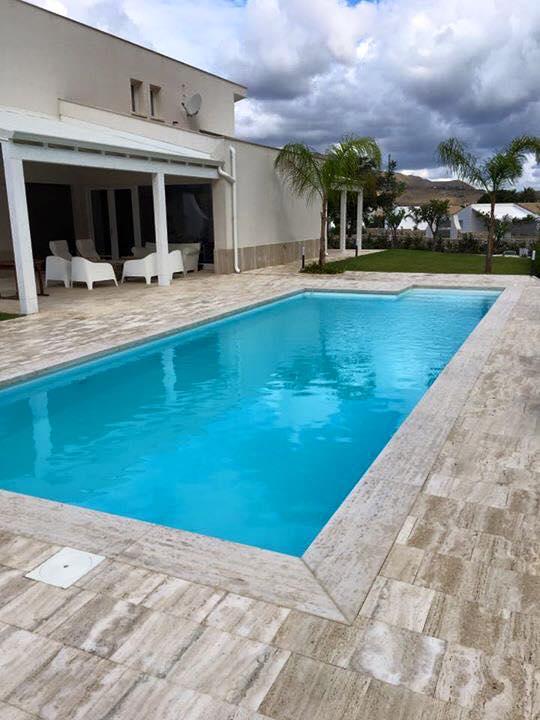 Piscina 10x4 con sali della vita piscine foto lavori for Piscina 10x4 precio